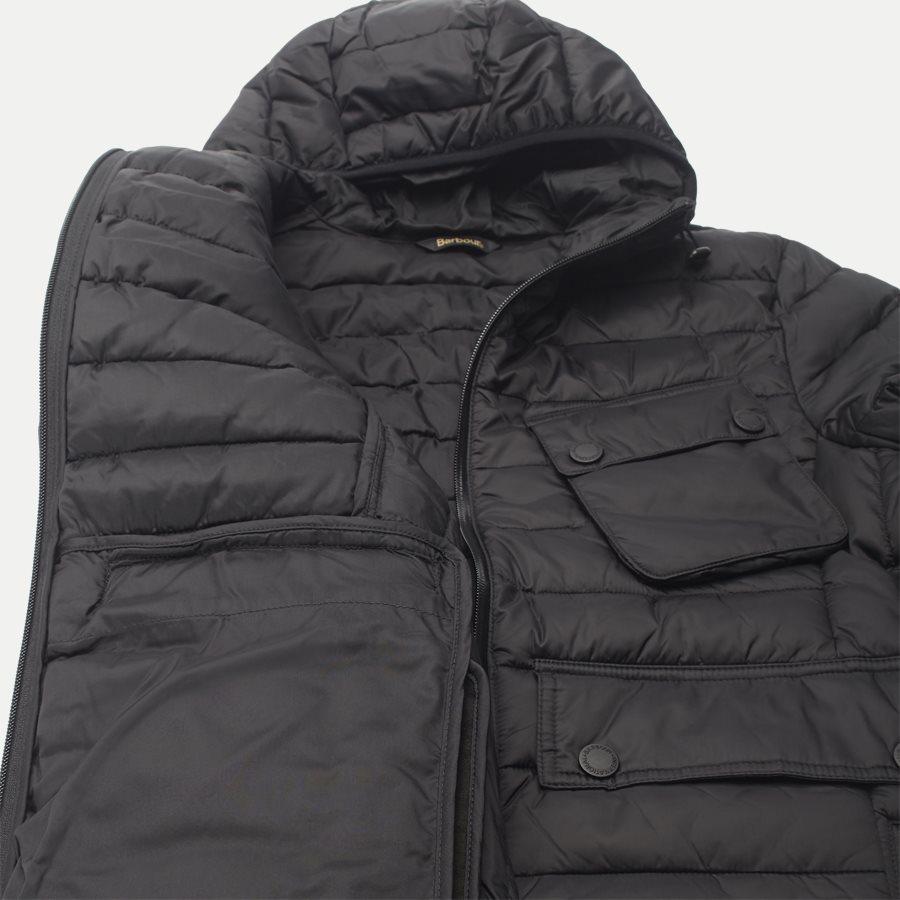 OUSTON. - Ouston Fibredown Jacket - Jakker - Slim - SORT - 13
