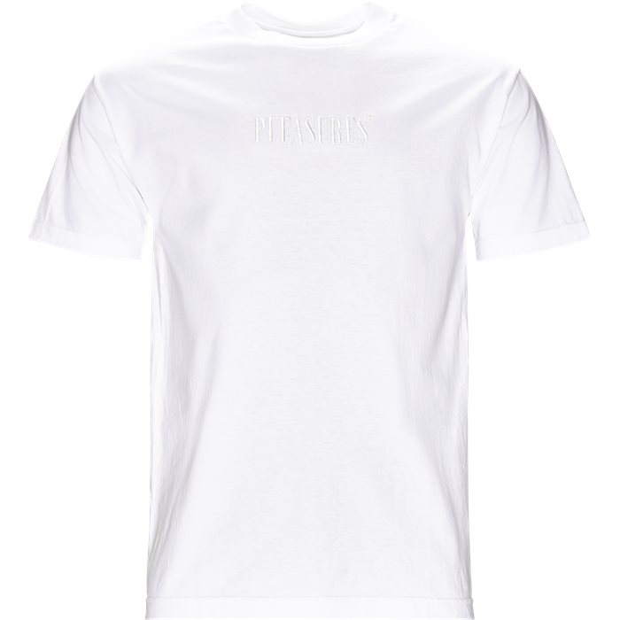Core Logo Embro Tee - T-shirts - Regular - Hvid
