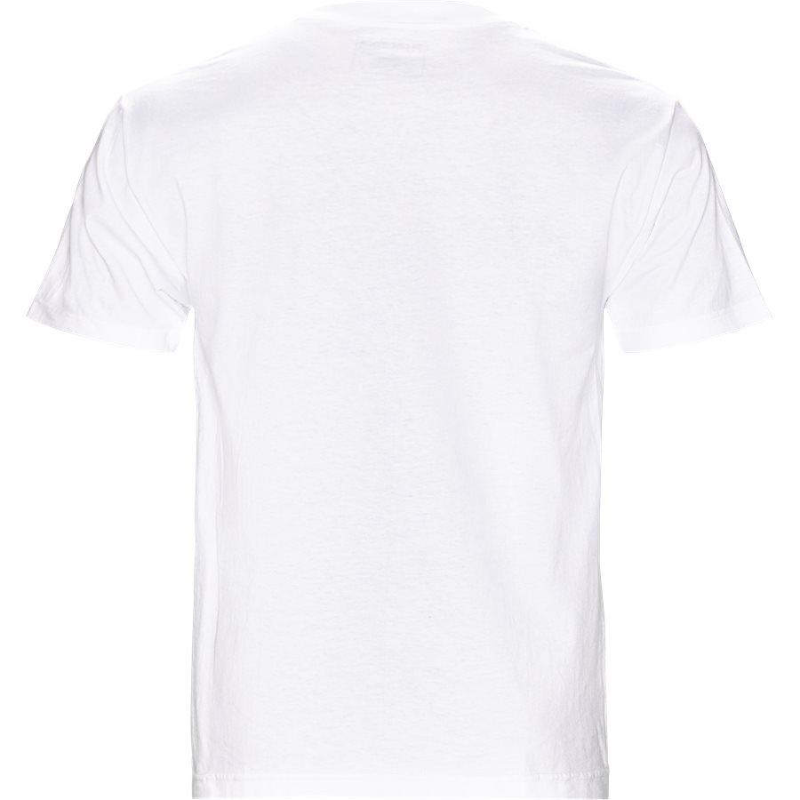 CORE LOGO EMBRO TEE - Core Logo Embro Tee - T-shirts - Regular - HVID - 2