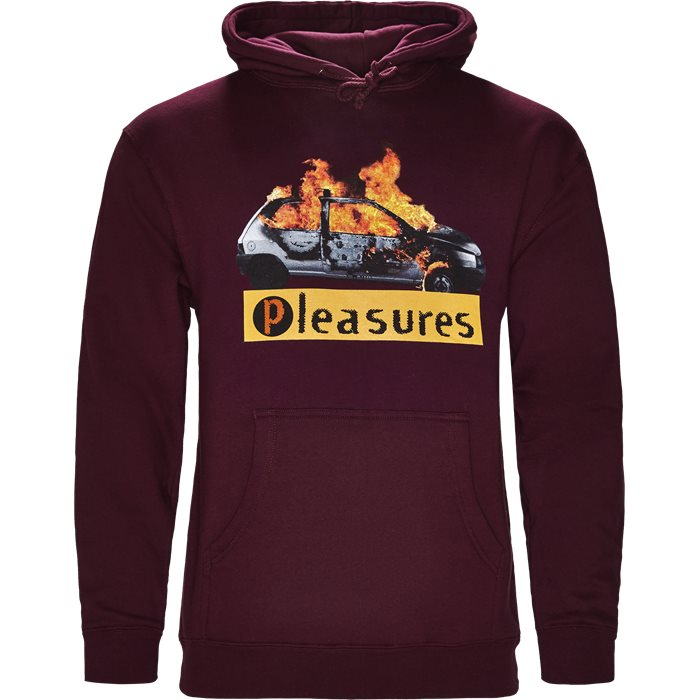 Crash Hoody - Sweatshirts - Regular - Bordeaux