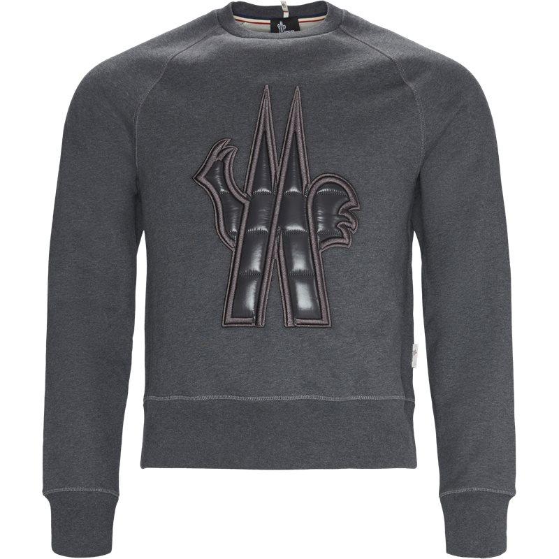 grenoble moncler – Grenoble moncler regular fit 80002 50 80426 ny sweatshirts grå på axel.dk