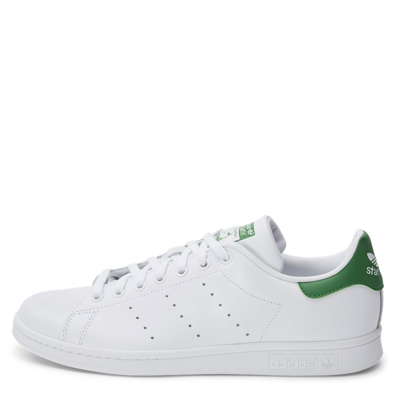 Image of   Adidas Originals Stan Smith Hvid/grøn