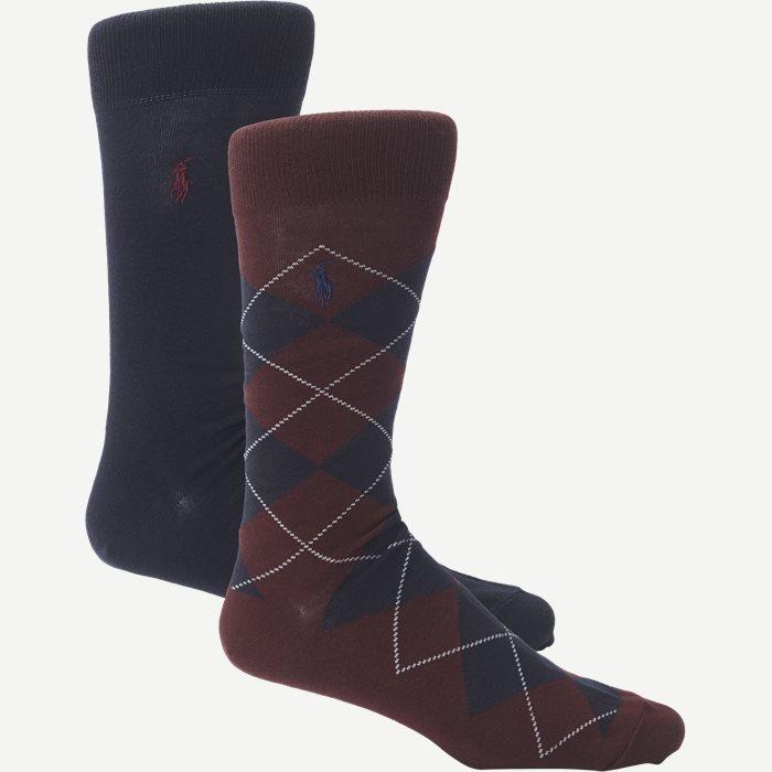 2 Pack Socks - Strømper - Blå