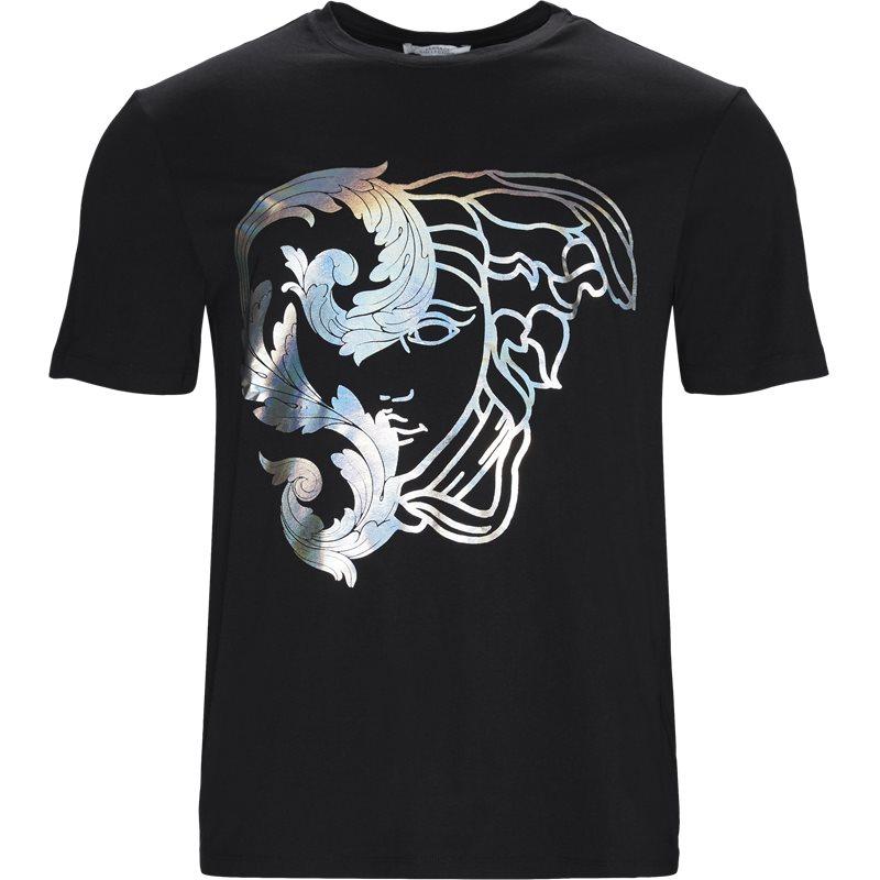 Billede af VERSACE Regular fit V800683R VJ00567 T-shirts Sort