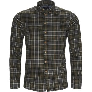 Warwick Overcheck Shirt Casual fit | Warwick Overcheck Shirt | Grøn