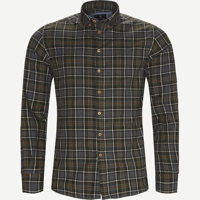 Hemden - Casual fit - Grün