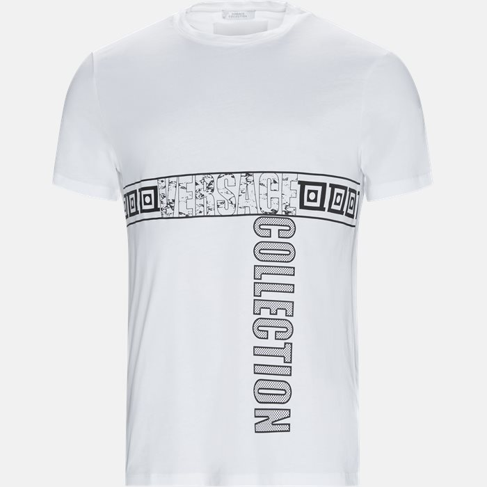 t-shirt - T-shirts - Regular - Hvid