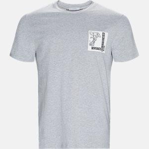 Regular fit | T-shirts | Grå