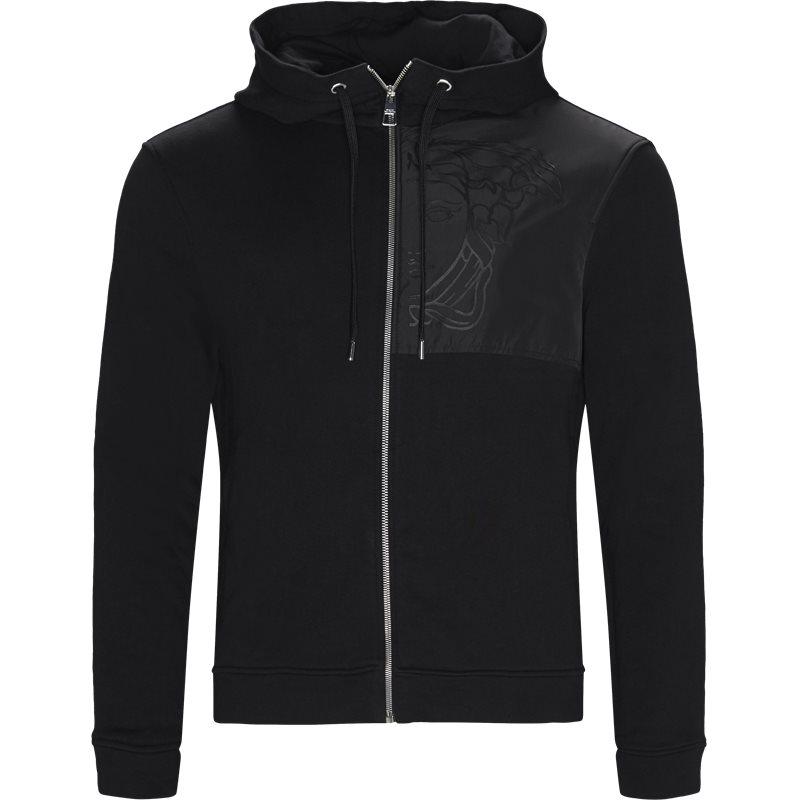 versace Versace sweatshirt sort fra axel.dk