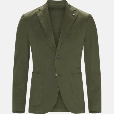 Slim | Blazer | Grøn