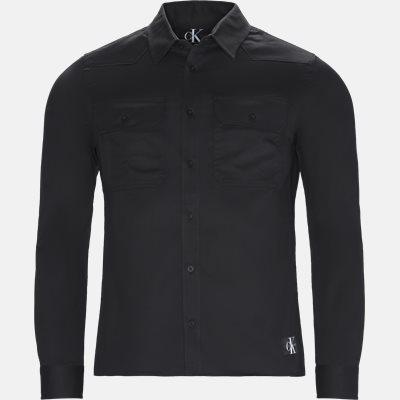 Slim | Shirts | Black