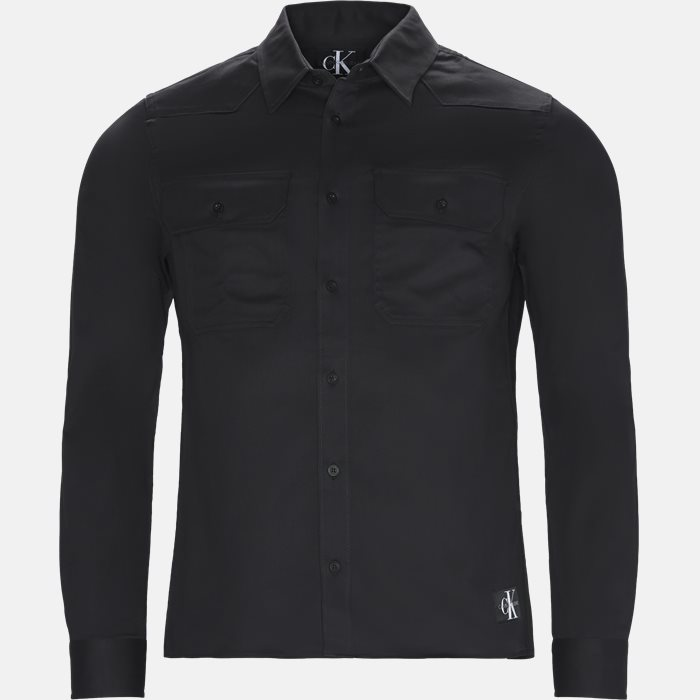 Shirts - Slim - Black