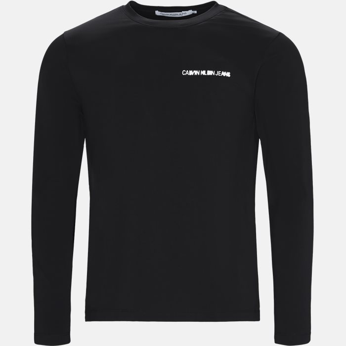 Long-sleeved T-shirts - Regular fit - Black
