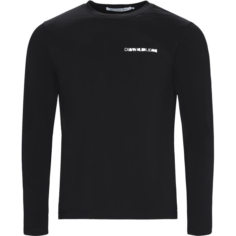 Billede af CALVIN KLEIN JEANS Regular fit J30J310489 INSTITUTIONAL CHEST LOGO T-shirts Black
