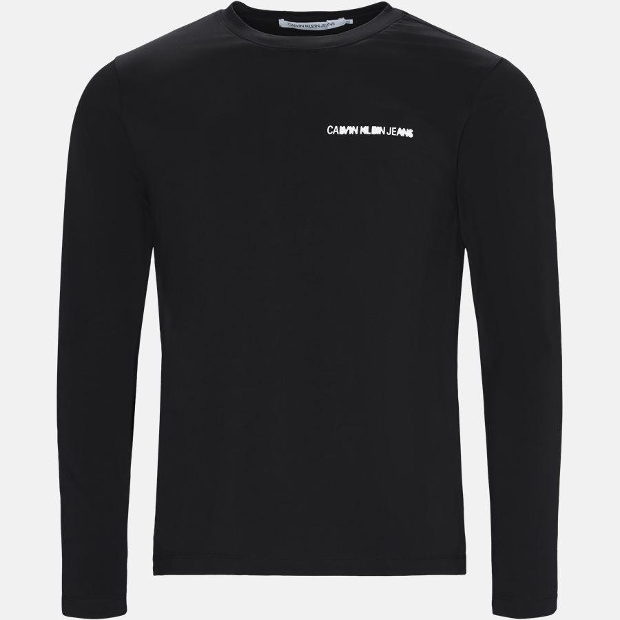 J30J310489 INSTITUTIONAL CHEST LOGO - T-shirts - Regular fit - BLACK - 1