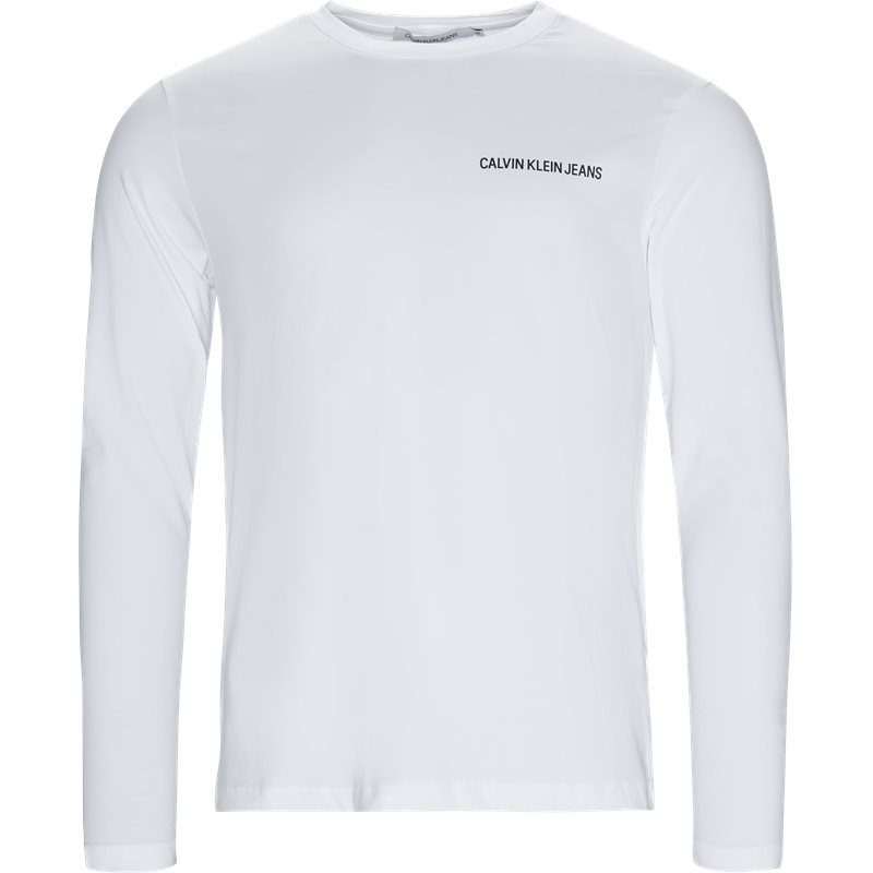 Image of   CALVIN KLEIN JEANS Regular fit J30J310489 INSTITUTIONAL CHEST LOGO T-shirts White