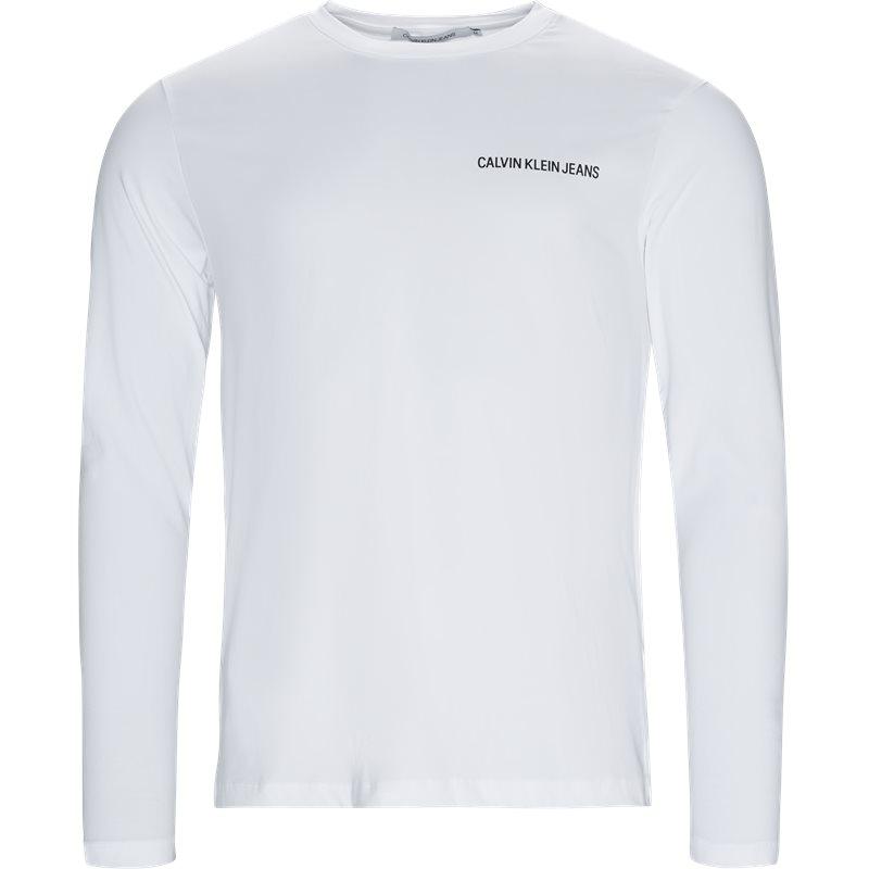 Billede af CALVIN KLEIN JEANS Regular fit J30J310489 INSTITUTIONAL CHEST LOGO T-shirts White