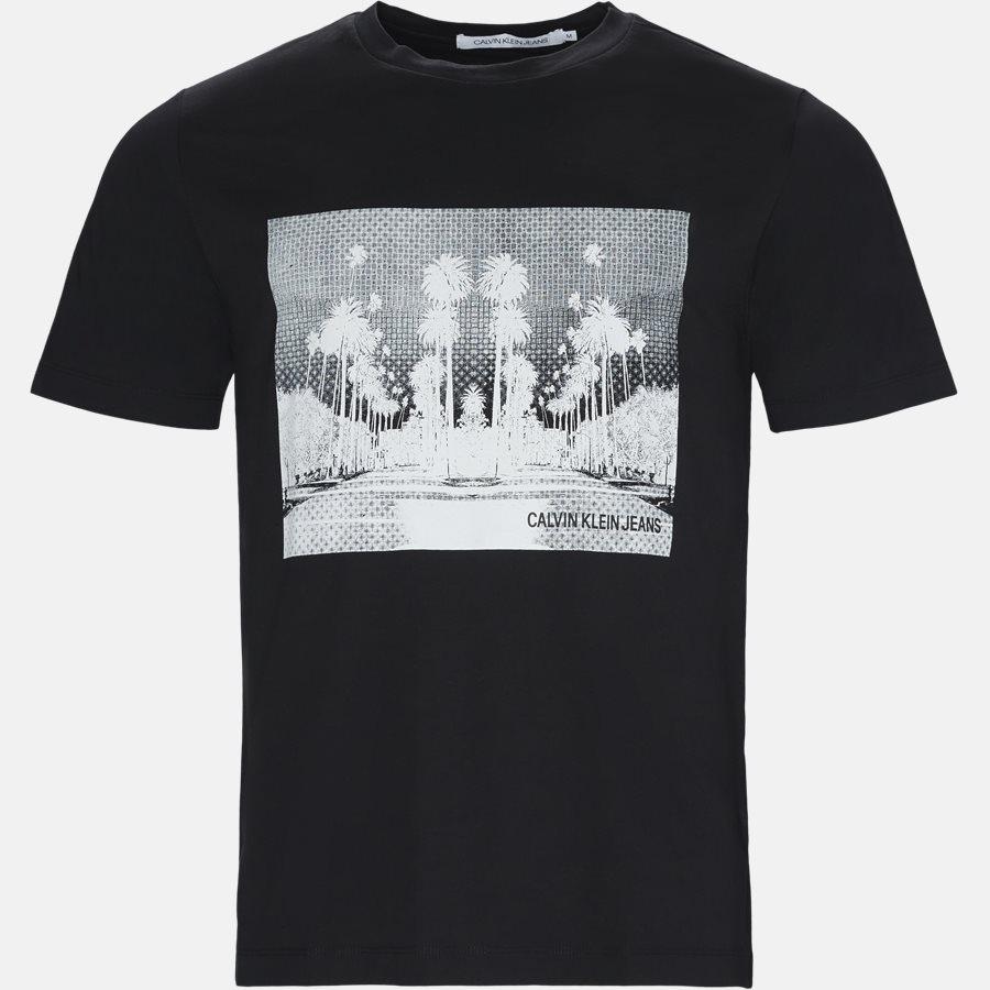J30J310408 CALI LANDSCAPE - T-shirts - Regular fit - BLK/WHI - 1