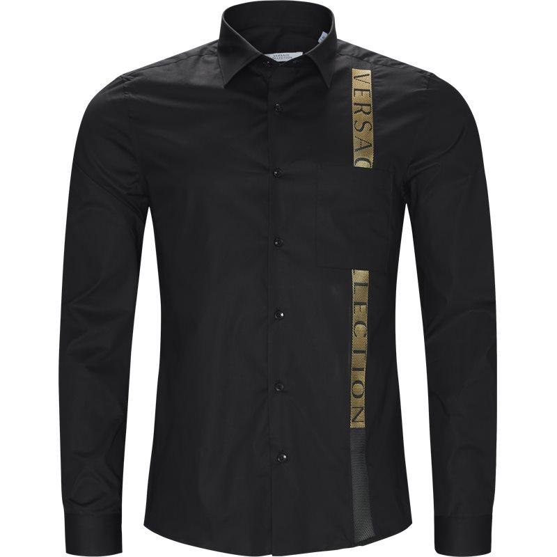 Versace regular fit v300314 vt00027 skjorter sort fra versace på axel.dk