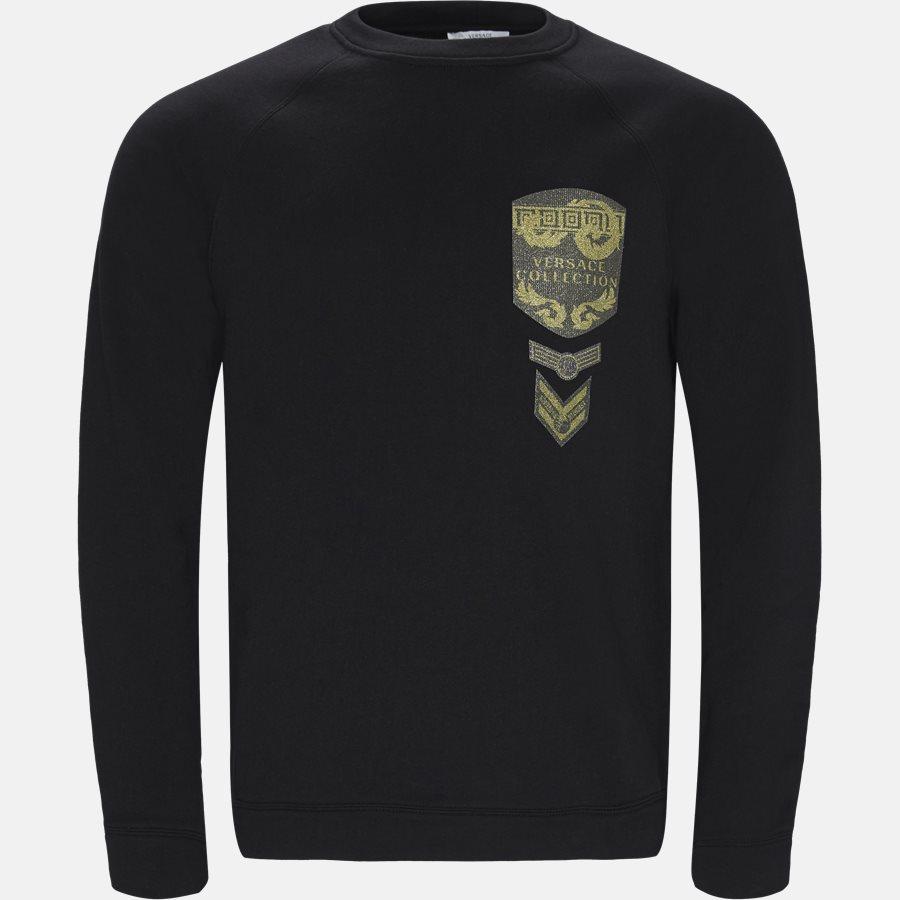 V800687N VJ00358 - Sweatshirts - Regular fit - SORT/GULD - 1