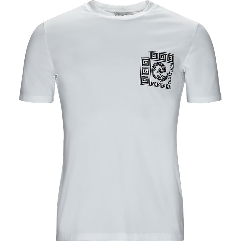 versace – Versace regular fit v800862c vj00600 t-shirts hvid fra axel.dk