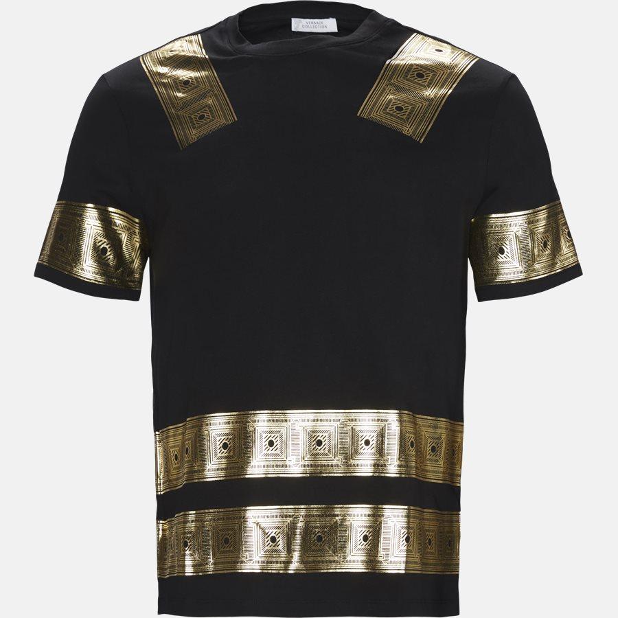 V800683R VJ00597 - T-shirts - Regular fit - SORT/GULD - 2