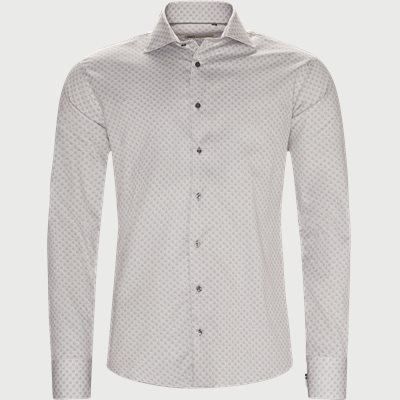 New Biz Skjorte Slim fit | New Biz Skjorte | Brun