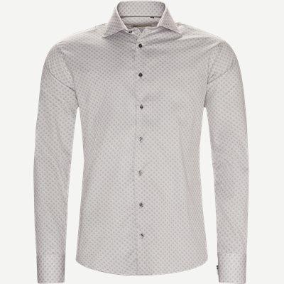 New Biz Skjorte Slim | New Biz Skjorte | Brun