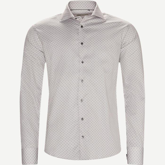 Hemden - Slim - Braun
