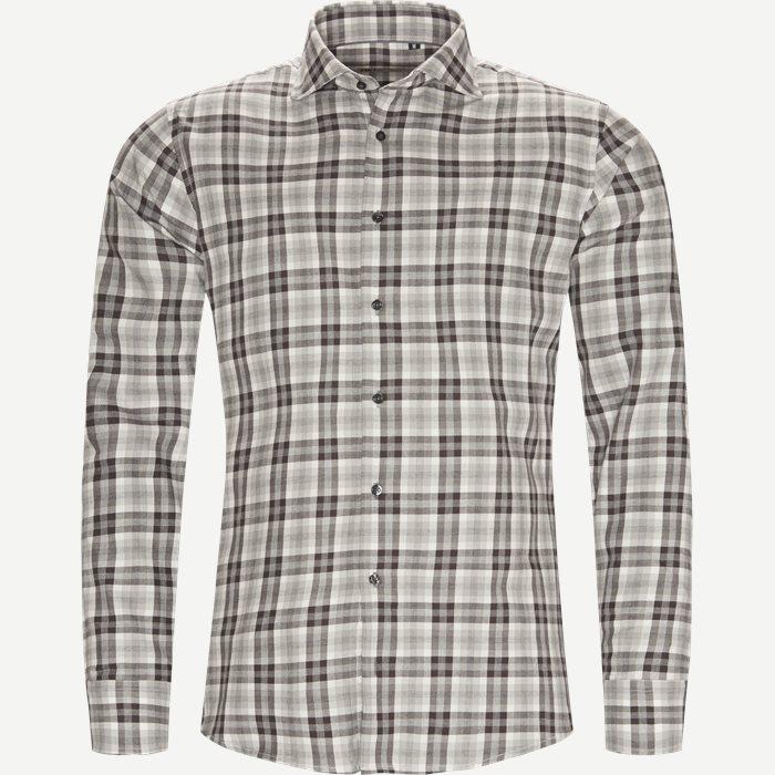 New Biz Skjorte - Skjorter - Slim - Grå