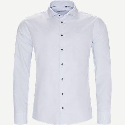 New Biz Skjorte Slim | New Biz Skjorte | Blå