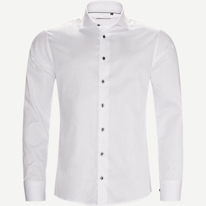 New Biz Skjorte - Skjorter - Slim - Hvid