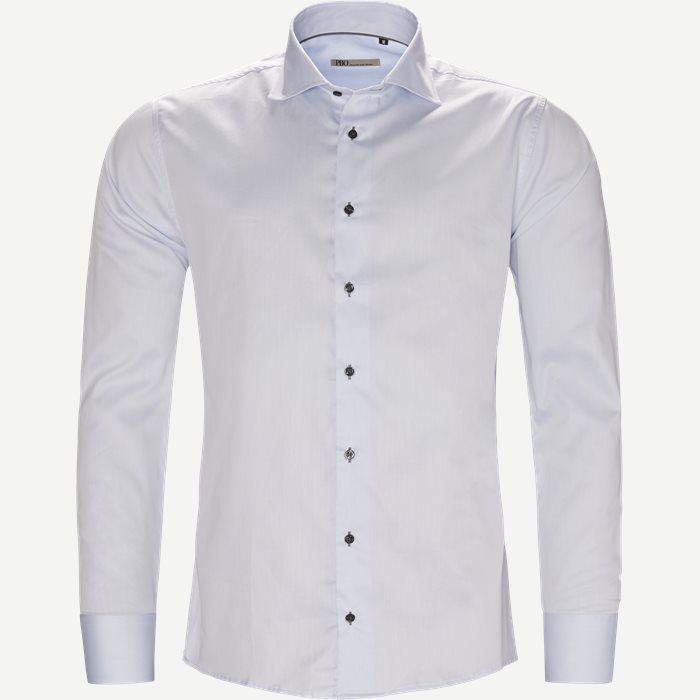 New Biz Skjorte - Skjorter - Slim - Blå