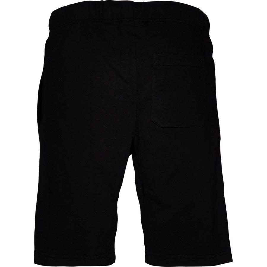 COLLEGE SWEAT SHORT. I024673 - College Sweat Shorts - Shorts - Regular - BLK/WHI - 2