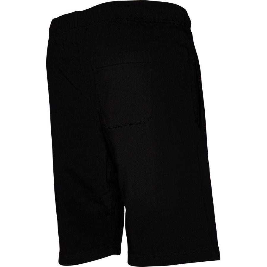 COLLEGE SWEAT SHORT. I024673 - College Sweat Shorts - Shorts - Regular - BLK/WHI - 3