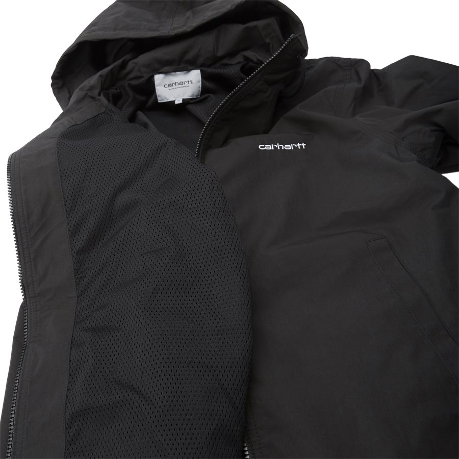 MARCH JACKET. I025756 - March Jacket - Jakker - Regular - BLK/WHI - 9