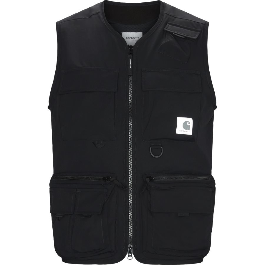 ELMWOOD VEST I026023 - Västar - Regular - BLACK - 1