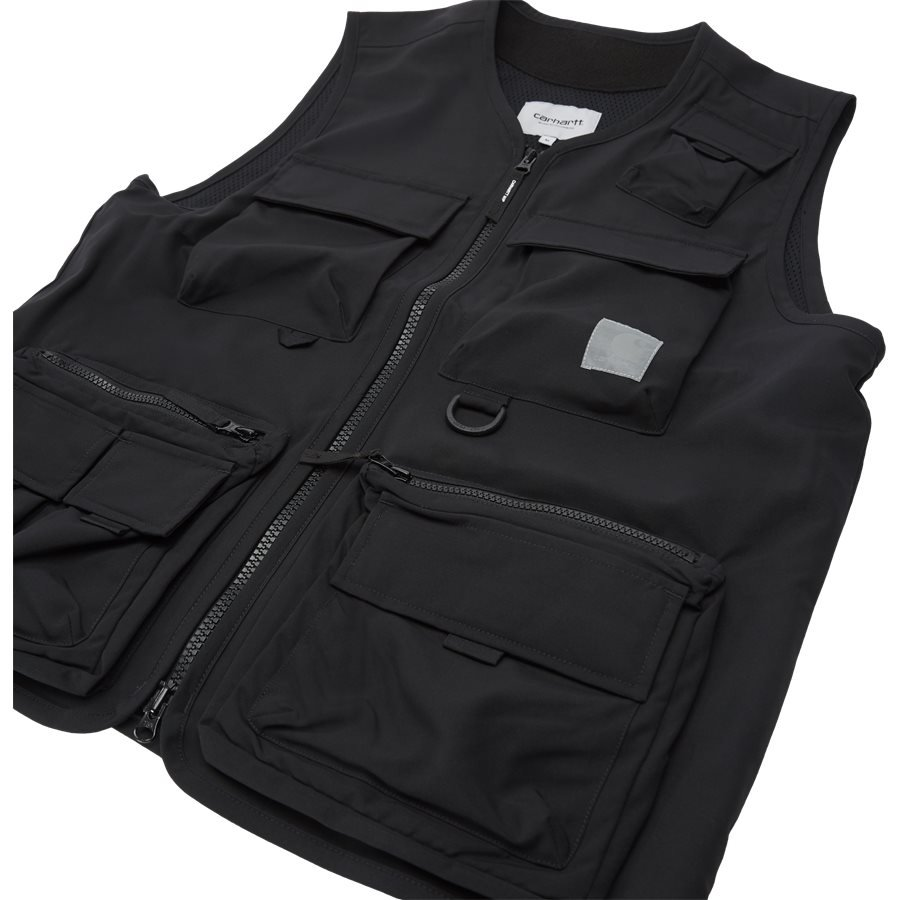 ELMWOOD VEST I026023 - Västar - Regular - BLACK - 4