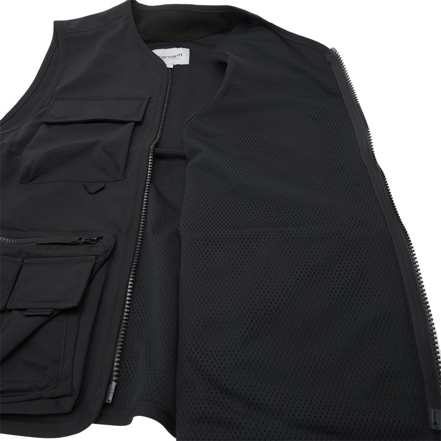 ELMWOOD VEST I026023 - Västar - Regular - BLACK - 9