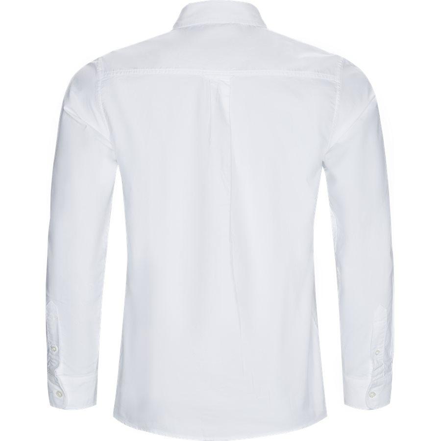 L/S POCKET SHIRT I022069 - L/S Pocket Shirt - Skjorter - Regular - WHITE - 2