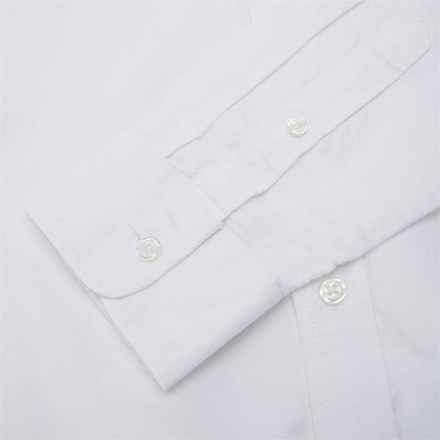 L/S POCKET SHIRT I022069 - L/S Pocket Shirt - Skjorter - Regular - WHITE - 3