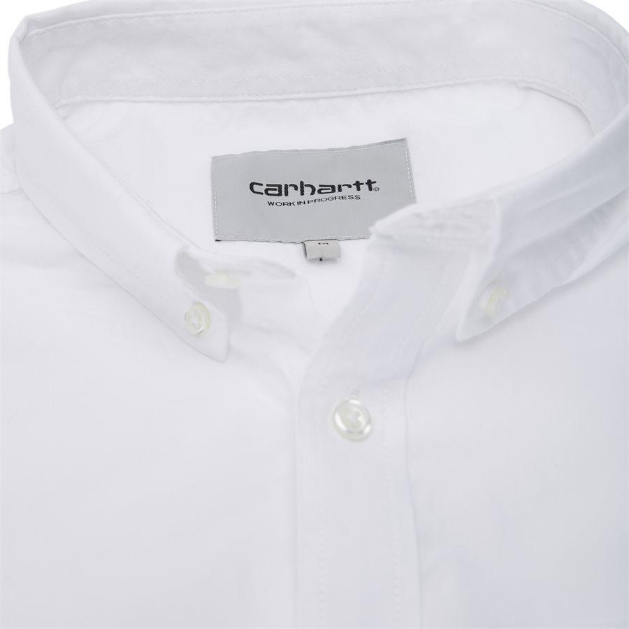L/S POCKET SHIRT I022069 - L/S Pocket Shirt - Skjorter - Regular - WHITE - 5