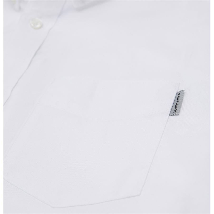 L/S POCKET SHIRT I022069 - L/S Pocket Shirt - Skjorter - Regular - WHITE - 6