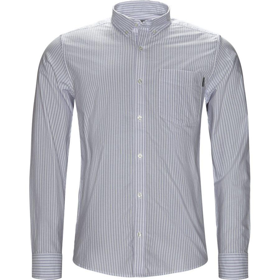 L/S KAREV SHIRT I026298 - L/S Karev Shirt - Skjorter - Regular - STRIPE/LAVENDER - 1