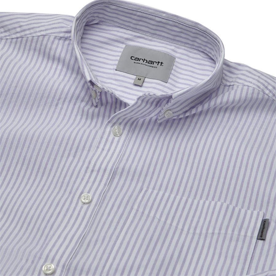 L/S KAREV SHIRT I026298 - L/S Karev Shirt - Skjorter - Regular - STRIPE/LAVENDER - 3