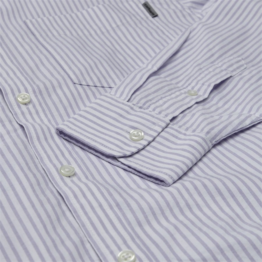 L/S KAREV SHIRT I026298 - L/S Karev Shirt - Skjorter - Regular - STRIPE/LAVENDER - 4