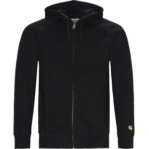 Hooded Chase Jacket Regular fit | Hooded Chase Jacket | Sort