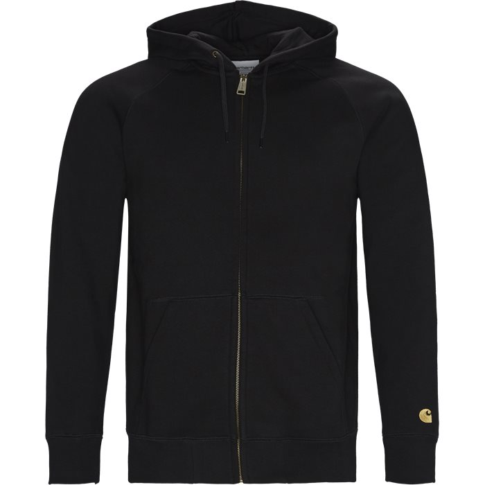 Hooded Chase Jacket - Sweatshirts - Regular fit - Sort