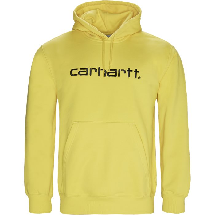 Hooded Carhartt - Sweatshirts - Regular fit - Gul