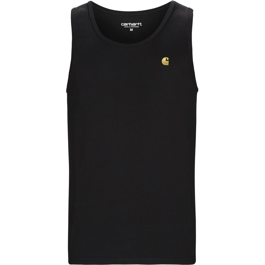 CHASE A-SHIRT I026396 - Chase Tank - T-shirts - Regular - BLACK/GOLD - 1